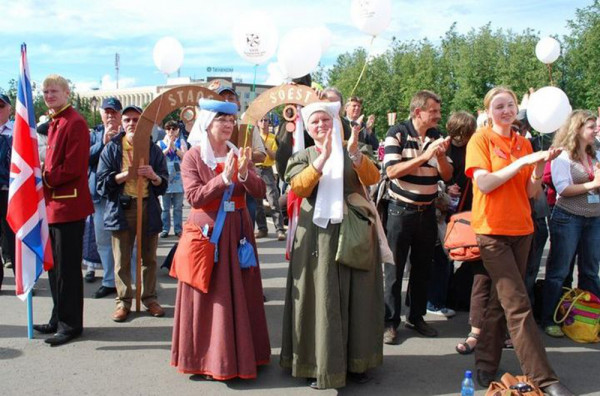 Ганзейский фестиваль в Пскове