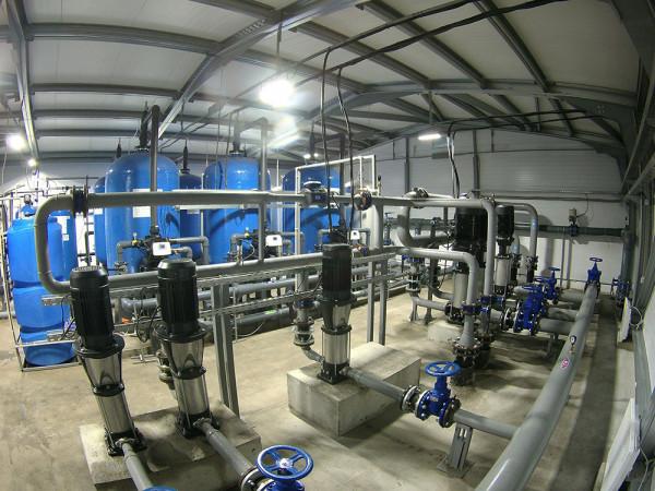 В Тихвинском районе появились станции водоподготовки